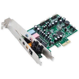 SYBA Multimedia Multi-channel PCI-Epress Sound Card - Main Card