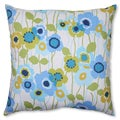 Pillow Perfect 'Pic-A-Poppy' Blue 23-inch Floor Pillow