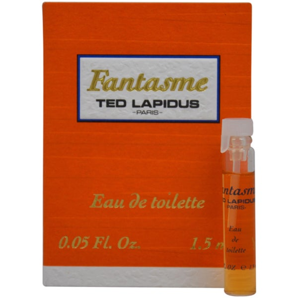 Ted Lapidus 'Fantasme' Women's 0.05-ounce Eau de Toilette Splash Vial (Mini)