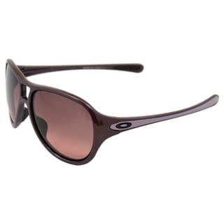Oakley Women's 'OO9177-04 Twentysix.2' Dark Plum G40 Black Sunglasses