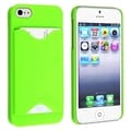 BasAcc Green Case with Card Holder for Apple� iPhone 5/ 5S