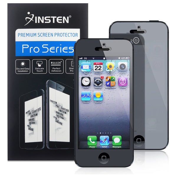 INSTEN Mirror Screen Protector for Apple iPhone 5/ 5C/ 5S/ SE