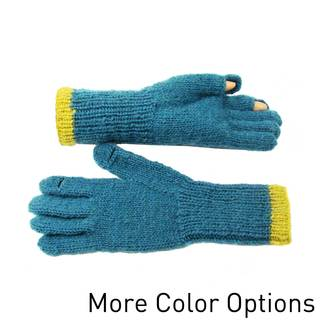 Handmade Wool Tegan Texting Goves