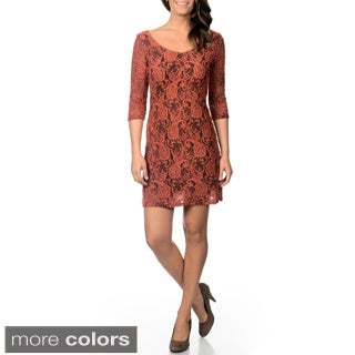 Mechant Women's Paisley Lace Novelty Dress