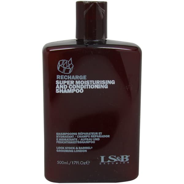 Lock Stock & Barrel Recharge Super Moisturising & Conditioning 17-ounce Shampoo