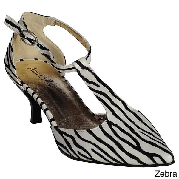 Ann Creek Women's T-Strap Heels Shoes
