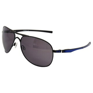 Oakley Men's 'OO4057-09 MotoGP' Plaintiff Matte Black/Warm Grey Sunglasses