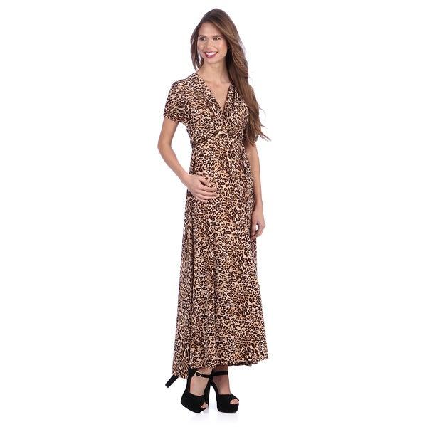Tabeez Women's Multi Way Animal Print Dress