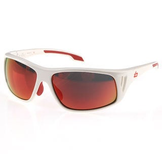 Bolle 'Rainer' Shiny White Polarized Sport Sunglasses