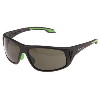 Bolle 'Rainer' Dark Grey Polarized Trivex Sunglasses