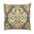 Handcrafted Gold Khari Throw Pillow (India)
