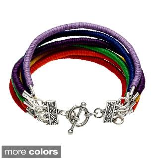 Rainbow Aura Bracelet (Guatemala)