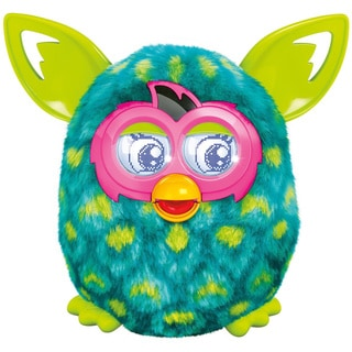 Furby Boom Green Peacock