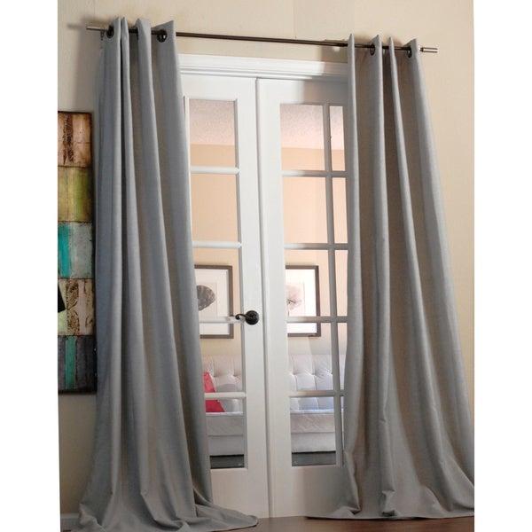 Anaya Linen Blend Solid Grommet 96-inch Panel