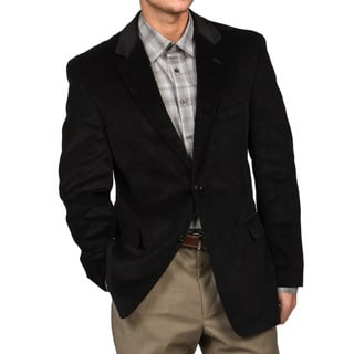 SB Adolfo Men's Black Corduroy Sport Coat