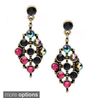 Alexa Starr Rhinestone Drop Earrings