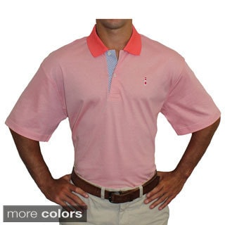 McIlhenny Dry Goods Tabasco Sportswear Men's Seersucker Trim Polo