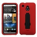 BasAcc Black/ Red Symbiosis Case with Stand for HTC One Mini/ M4