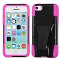 BasAcc Hot Pink Inverse Case with Stand for Apple iPhone 5C