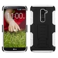 BasAcc Black/ White Case with Stand for LG D801 Optimus G2/ D800 G2