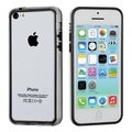 BasAcc Black/ Transparent Clear MyBumper Case for Apple iPhone 5C
