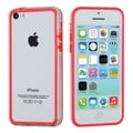 BasAcc Red/ Transparent Clear MyBumper Case for Apple iPhone 5C