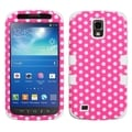 BasAcc Pink/ White Dots TUFF Case for Samsung i537 Galaxy S4 Active