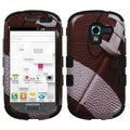BasAcc Football/ Black TUFF Case for Samsung T599 Galaxy Exhibit