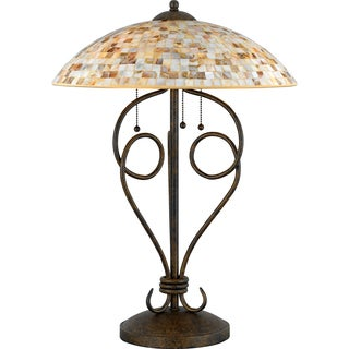 Quoizel 'Monterey Mosaic' Table Lamp