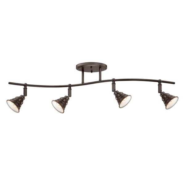 Quoizel u0026#39;Eastvaleu0026#39; Ceiling Track Light - 15755254 - Overstock.com Shopping - Big Discounts on ...