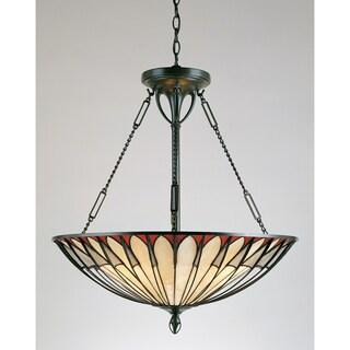 Tiffany 4-light Vintage Bronze Pendant