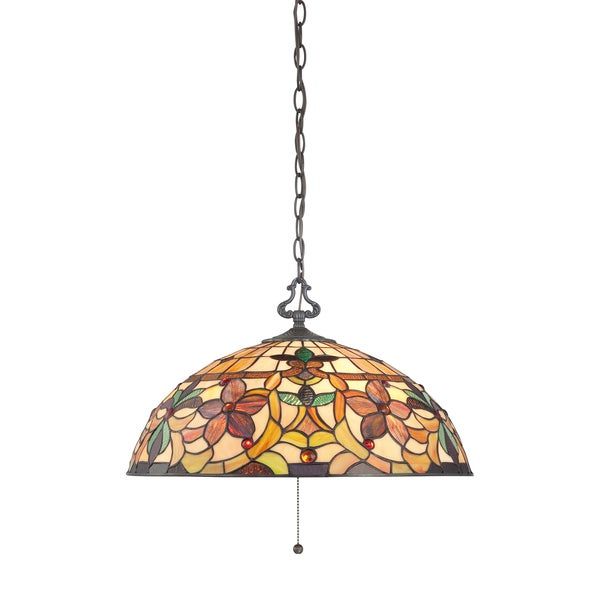 Kami 3-light Vintage Bronze Pendant