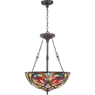 Larissa 3-light Vintage Bronze Pendant