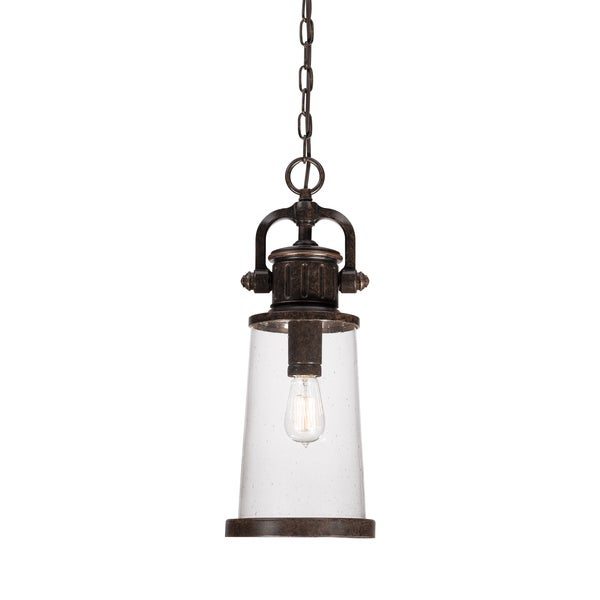 Steadman 1-light Imperial Bronze Outdoor Hanging Lantern