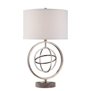 Gen 1-light Antique Nickel Table Lamp