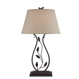Lively 2-light Imperial Bronze Table Lamp