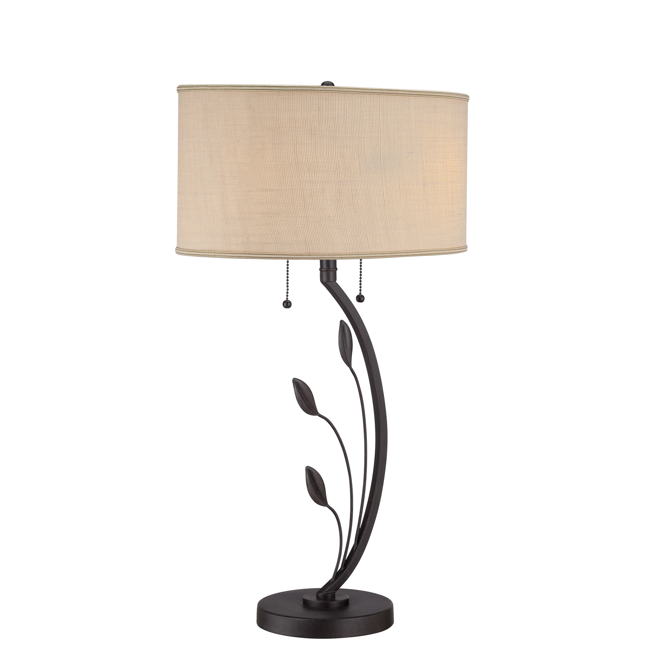 Quoizel Lively 2-light Brown Textured Table Lamp at Sears.com