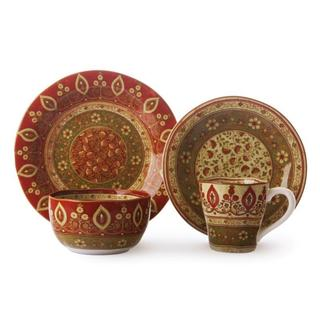 222 Fifth Kashmir 16-piece Dinnerware Set
