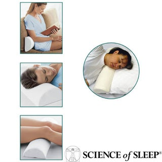 Science of Sleep Memory Foam 4-position Pillow