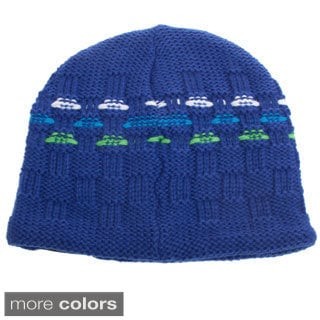 Snow Dragons Boy's Knit Beanie