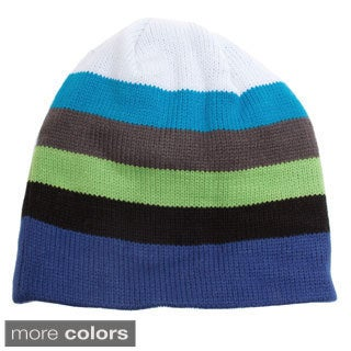 Snow Dragons Boy's Multi Stripe Hat