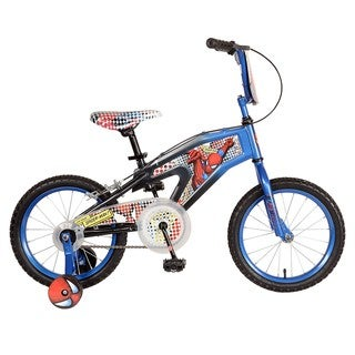 Blue 16-inch Spiderman Bike