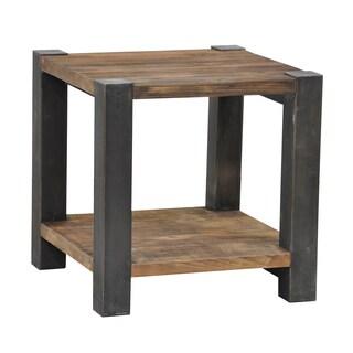 Willow Iron Leg End Table