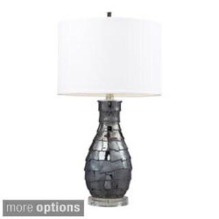 Cooper 1-light Navy Pearl Ceramic Table Lamp