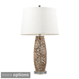 Maria 1-light Golden Pearl Ceramic Table Lamp