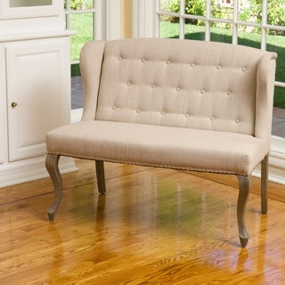 Christopher Knight Home Adrianna Fabric Loveseat