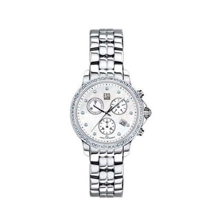 ESQ by Movado Luxe Mother Of Pearl with Diamonds Chronograph Ladies' Watch 07101252