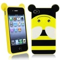 BasAcc Bee TPU Rubber Case for Apple iPhone 4/ 4S