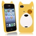 BasAcc Dog TPU Rubber Case for Apple iPhone 4/ 4S