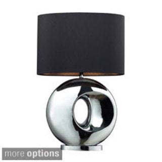 Tobermore 1-light Ceramic Chrome Table Lamp